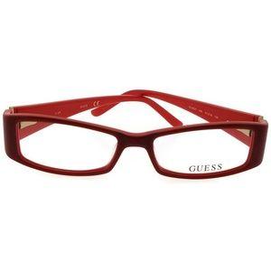 Guess GU2537-066-51 Women's Red Frame Eyeglasses